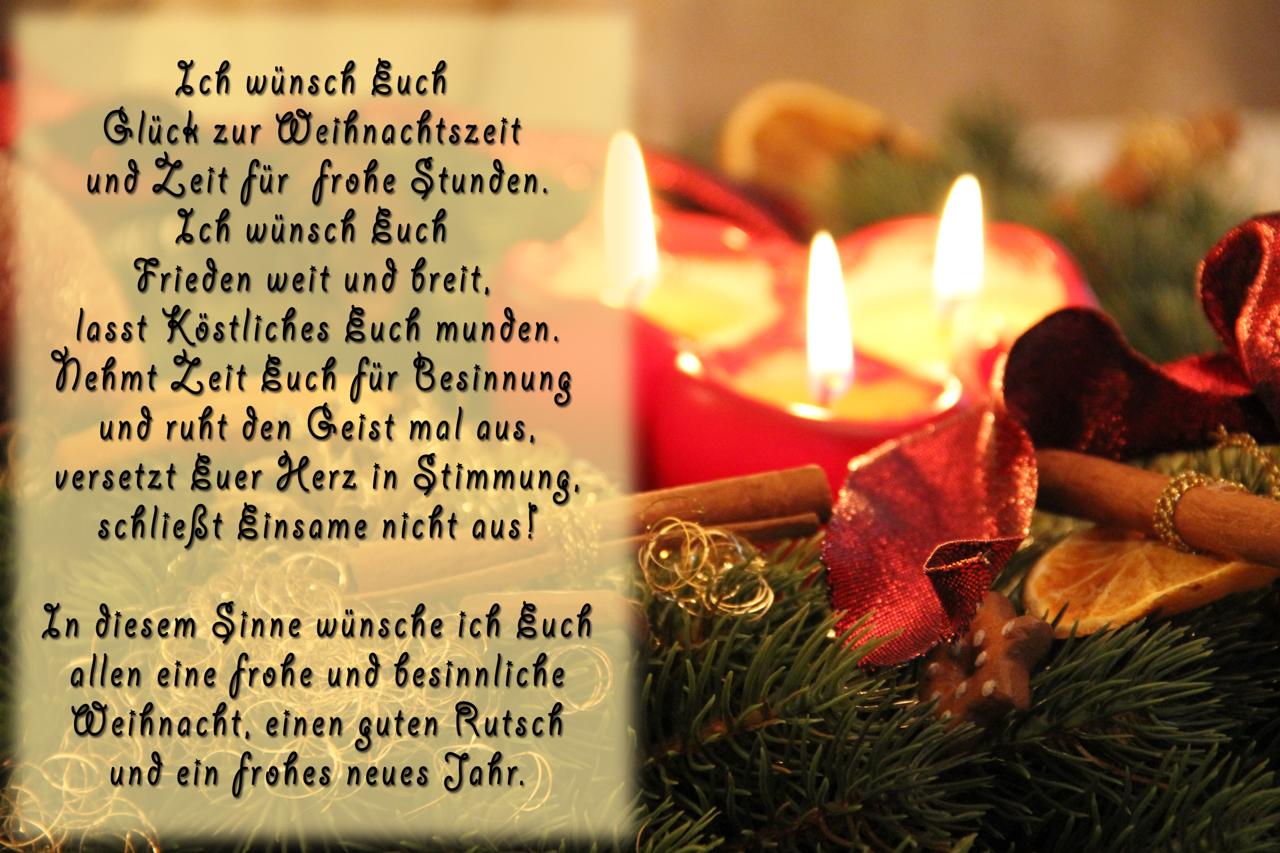 Besinnliche WeihnachtГџprГјche WeihnachtsgrГјГџe